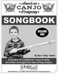 American Canjo Songbook - Volume 1 - Easy-to-play Tablature for 53 Well-Known Songs (Printed Version)