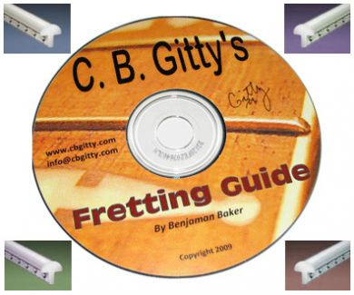 cigar box guitar fretting starter kit c b gitty crafter supply. Black Bedroom Furniture Sets. Home Design Ideas