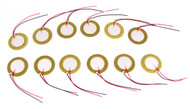 12-pack 20mm Piezos with Leads