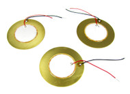 3pc 41mm JUMBO piezos with pre-wired leads