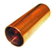 "Polished Copper Guitar Slide: 2 1/4"" - Made in the USA!"