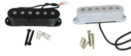 Foundry-Tone Single-Coil Electric Guitar Pickups - Choose Black or White
