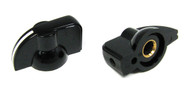 "2-pack Black ""Chickenhead"" Pointer Knobs"