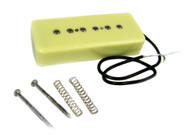 "The C. B. Gitty ""Soap Bar"" P90-Style Electric Guitar Pickup - Cream"