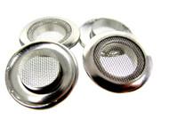 4pc 1-inch Screened Nickel Grommets