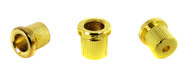 3pc. Gold Cup-style String Ferrules for Guitar & More