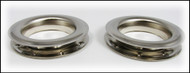 2-pack Large (1.5-inch) Nickel-Plated Grommets w/Washers