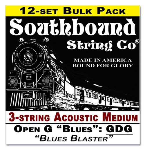 "C. B. Gitty CBG Strings - Low Open G ""Blues"" GDG Tuning - Acoustic Medium"