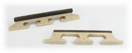 2pc. Wood 4-String Banjo/Cigar Box Guitar Bridges