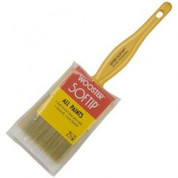 "WOOSTER Q3108 2-1/2"" SOFTIP NYLON POLY FLAT PAINT BRUSH"