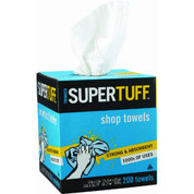 Trimaco Dispenser Box SuperTuff Shop Towels - 200ct