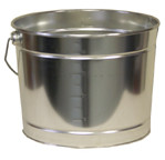 Leaktite 5 Quart Metal Pail (case of 24)