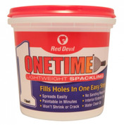 Red Devil OneTime Lightweight Spackling (1 Quart)