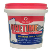 Red Devil OneTime Lightweight Spackling (1/2 Pint)