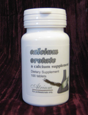 Calcium Orotate 100 tablets, calcium (as calcium orotate) 500 mg