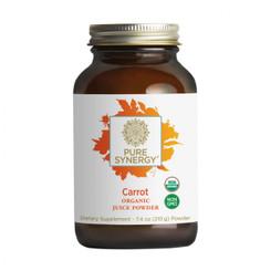 Carrot Juice Powder 60 serving 2 month supply 7.4 oz powder