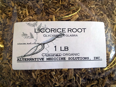 Bulk Licorice Root for tea.
