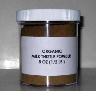 8oz Milk Thistle Powder CERTIFIED Organic