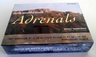 Frozen NatCell Adrenal Gland