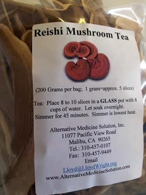 Bulk Reishi Mushroom for Tea