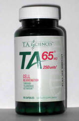 TA65 anti aging supplement
