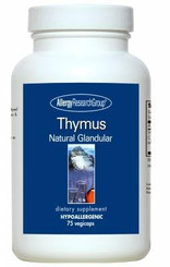 Thymus - 75 Vegicaps Natural Glandular