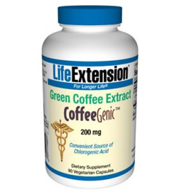 CoffeeGenic Green Coffee Extract 200 mg or 400 mg