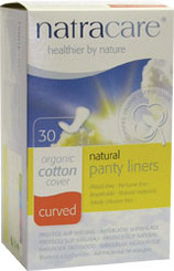 Organic Chemical and plastic free cotton panty liners