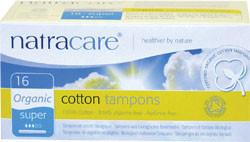 Organic Cotton Super Tampons