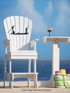 Outdoor Patio Lifeguard Chair - Flats Boat