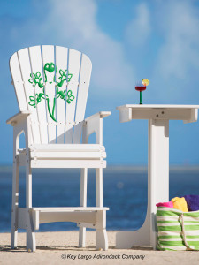 Outdoor Patio Lifeguard Chair - Gecko