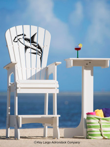 Outdoor Patio Lifeguard Chair - Hammerhead Shark