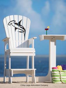 Outdoor Patio Lifeguard Chair - Hammerhead Shark