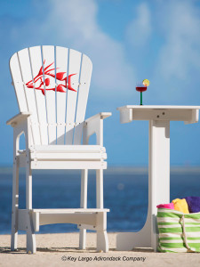 Outdoor Patio Lifeguard Chair - Hogfish - JM Design