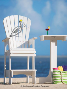 Outdoor Patio Lifeguard Chair - Pelican