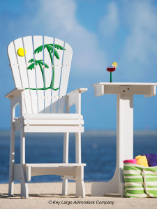 Outdoor Patio Lifeguard Chair - Sunset