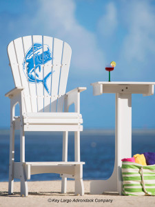 Outdoor Patio Lifeguard Chair - Mahi Mahi