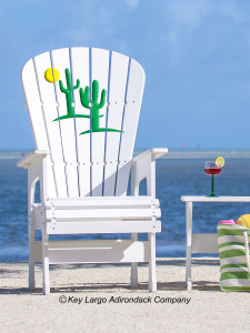 High Top Patio Chair - Cactus