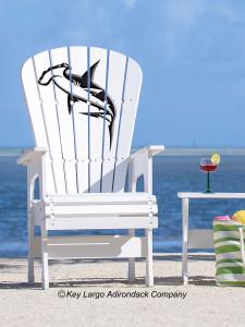 High Top Patio Chair - Hammerhead Shark