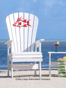 High Top Patio Chair - Hogfish - JM Design
