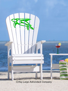 High Top Patio Chair - Turtle - JM Design