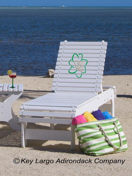 Outdoor Patio Chaise Lounge Chair - Gardenia