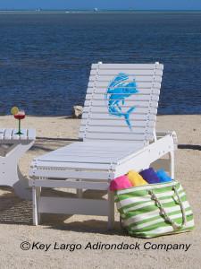 Outdoor Patio Chaise Lounge - Mahi Mahi