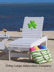 Outdoor Patio Chaise Lounge - Shamrock
