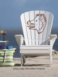 Boar's Head Adirondack Chair