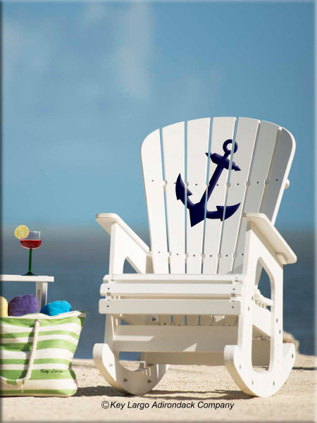 Boat Anchor Outdoor Patio Rocking Chair