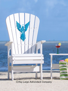 High Top Patio Chair - Angel
