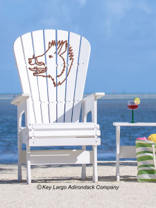 High Top Patio Chair - Boar's Head