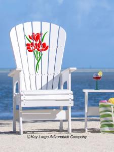 High Top Patio Chair - Bouquet