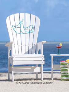 High Top Patio Chair - Dove